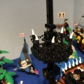 "Lego Pirates The Pirateship ""La Bestia Negra"" & ""The deep blue Poseidon"""