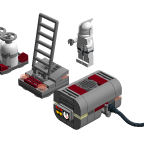 LEGO® Star Wars: Starfighter Hangar - Ground Equipment