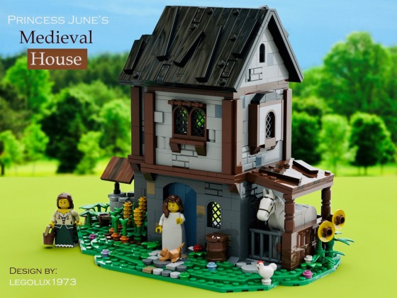 Princess June's Medieval House 02