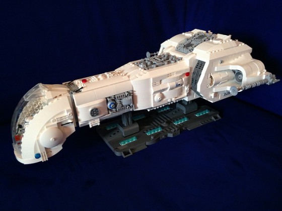 Star Wars - Republic Battle Cruiser June I - 01
