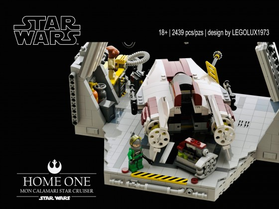 7754 Home One Mon Calamari Star Cruiser Revisited