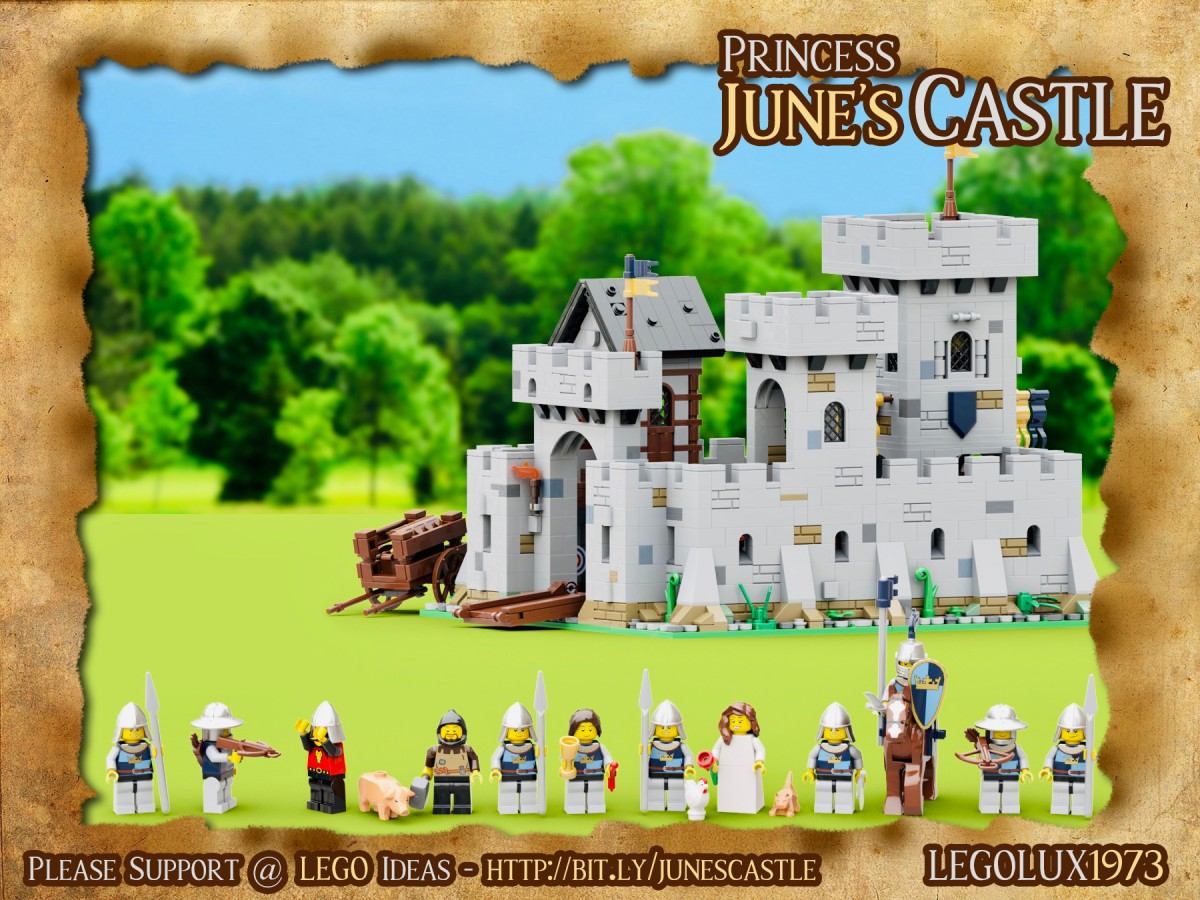Princess June's Castle - my LEGO Ideas Project 13