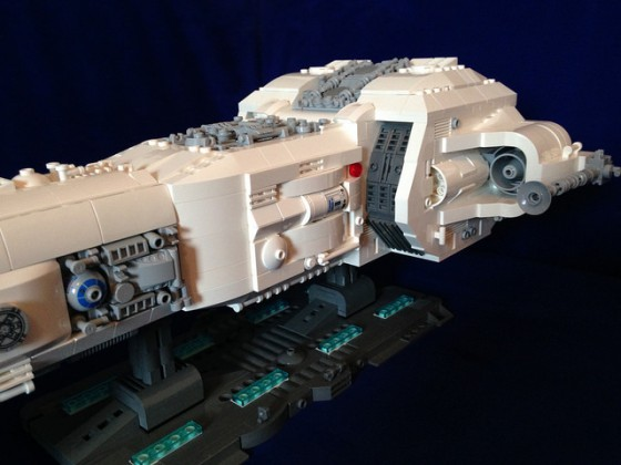 Star Wars - Republic Battle Cruiser June I - 05