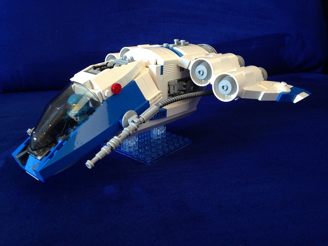 LEGO® Galaxy Squad: Harrier Gunship 01