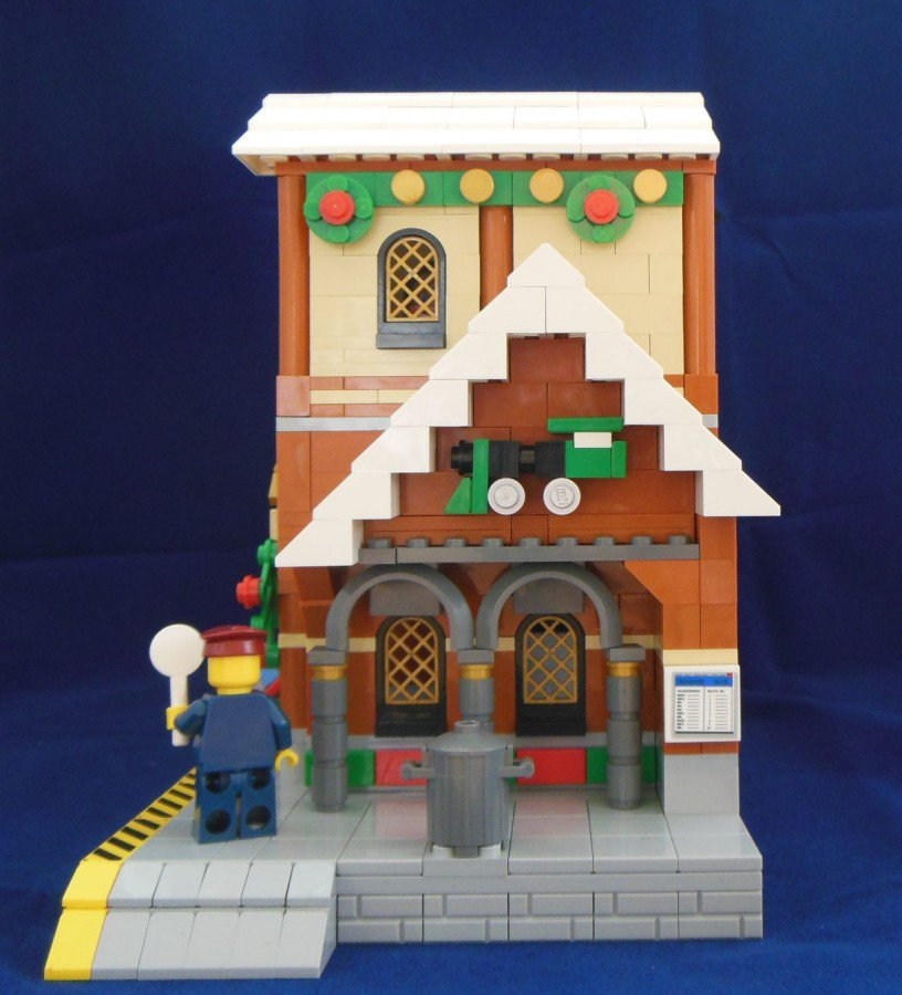 Winter Village Train Station