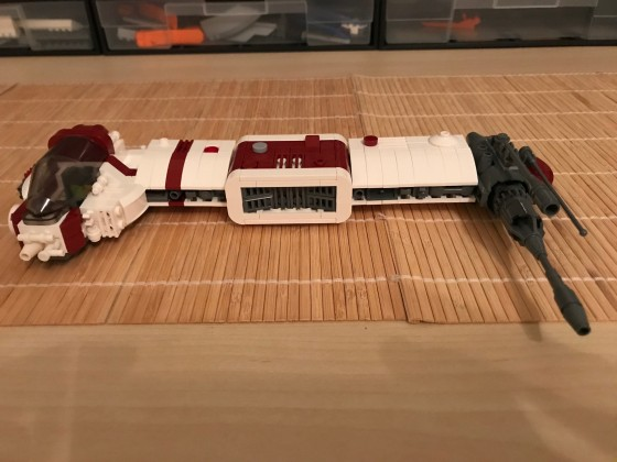 (WIP) LEGO® Star Wars: Another Rebel Bomber 07