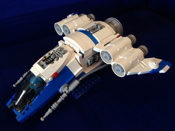 LEGO® Galaxy Squad: Harrier Gunship 02