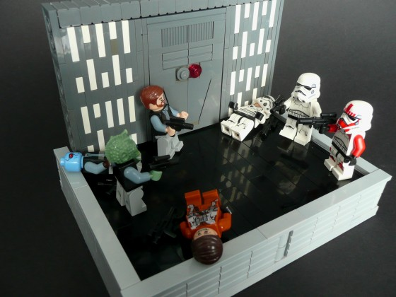 [MOC]Star Wars Battlefront- Iniside the Death Star