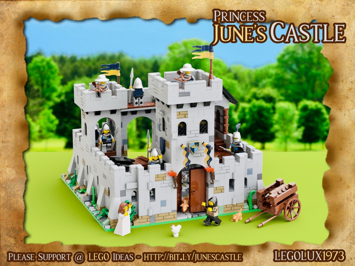 Princess June's Castle - my LEGO Ideas Project 04