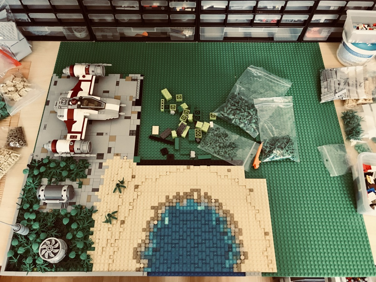 (WIP) LEGO® Star Wars: Rebel Base 02