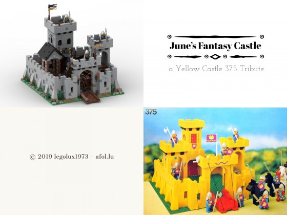 June's Fantasy Castle - a Yellow Castle 375 Tribute 00