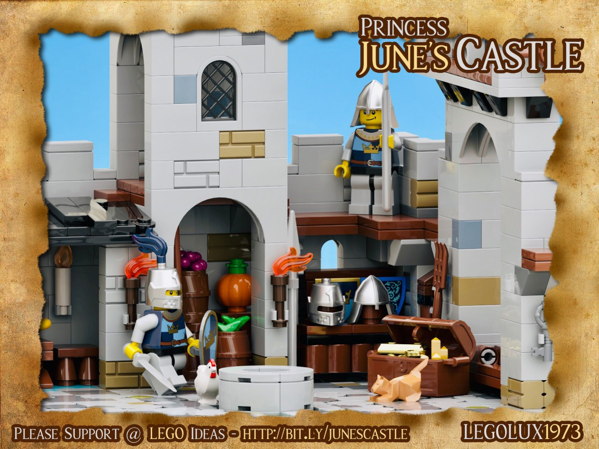 Princess June's Castle - my LEGO Ideas Project 03