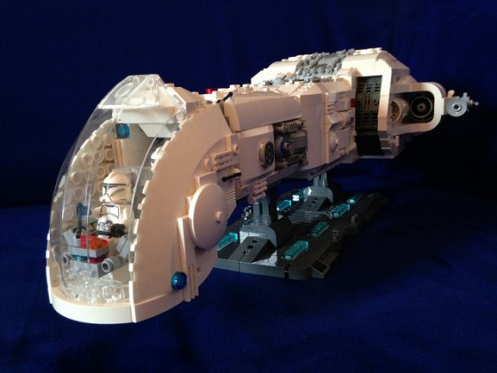 Star Wars - Republic Battle Cruiser June I - 04