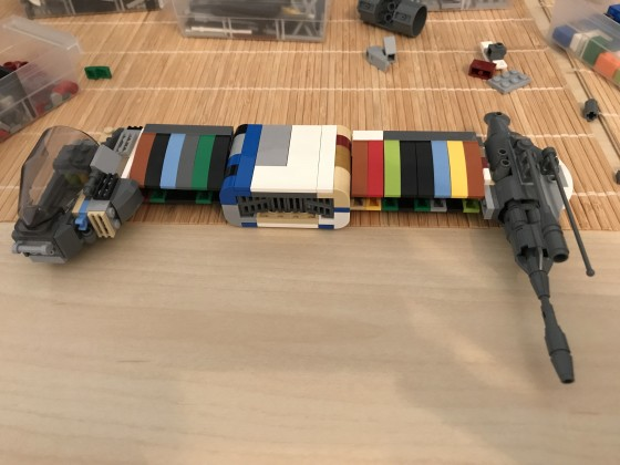 (WIP) LEGO® Star Wars: Another Rebel Bomber 04