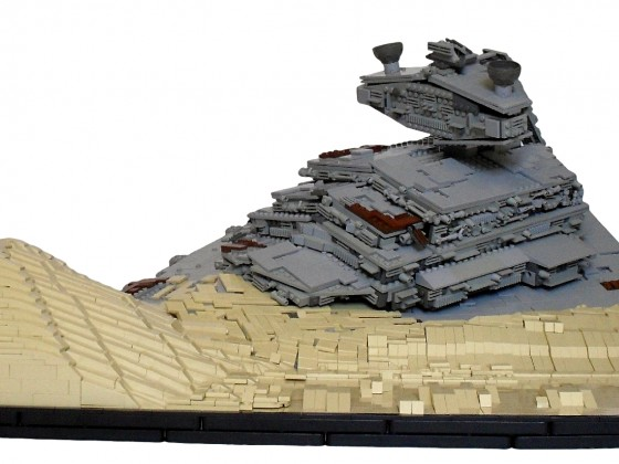 [MOC]Episode VII-The Force Awakens-Apoca Star Destroyer on Jakku