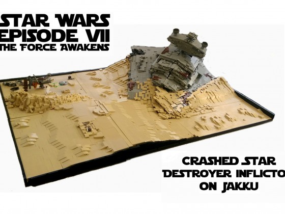 Star Destroyer on Jakku