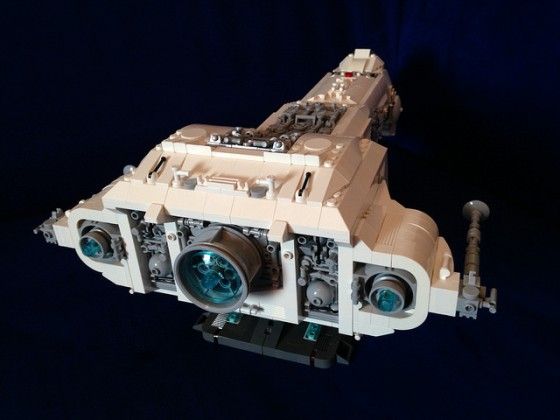 Star Wars - Republic Battle Cruiser June I - 07