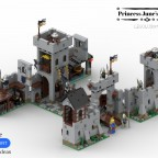 Princess June's Castle - my LEGO Ideas Project 09
