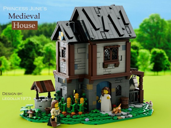 Princess June's Medieval House 01