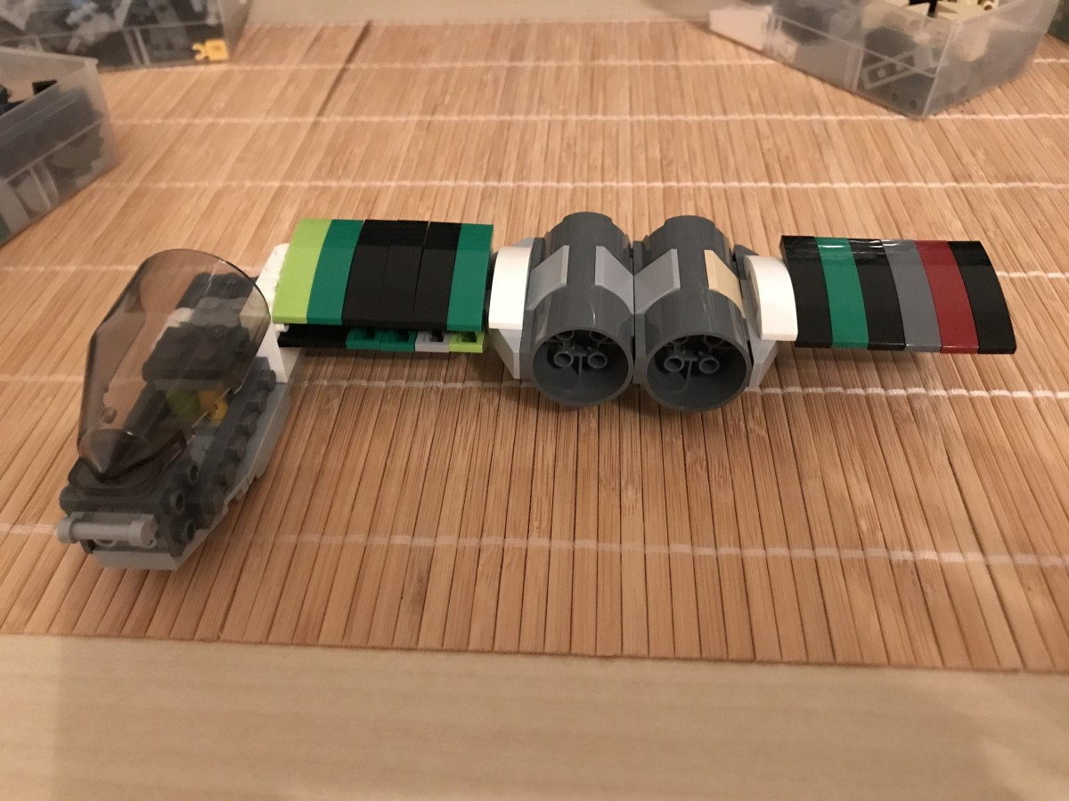 (WIP) LEGO® Star Wars: Another Rebel Bomber 01