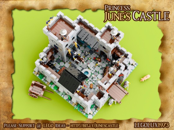 Princess June's Castle - my LEGO Ideas Project 12