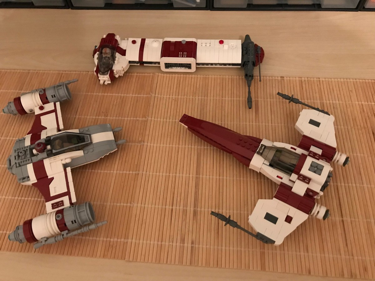 (WIP) LEGO® Star Wars: Another Rebel Bomber 09