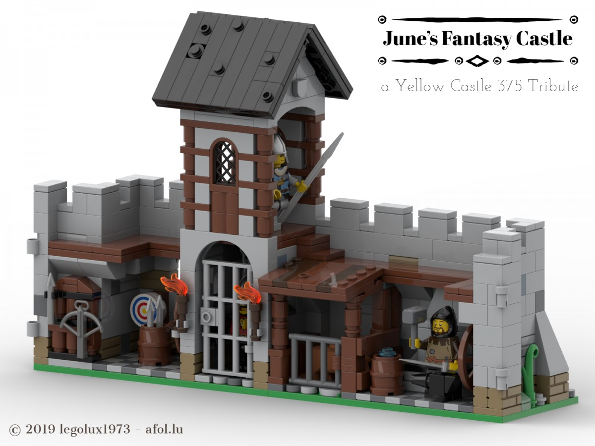 June's Fantasy Castle - a Yellow Castle 375 Tribute 03