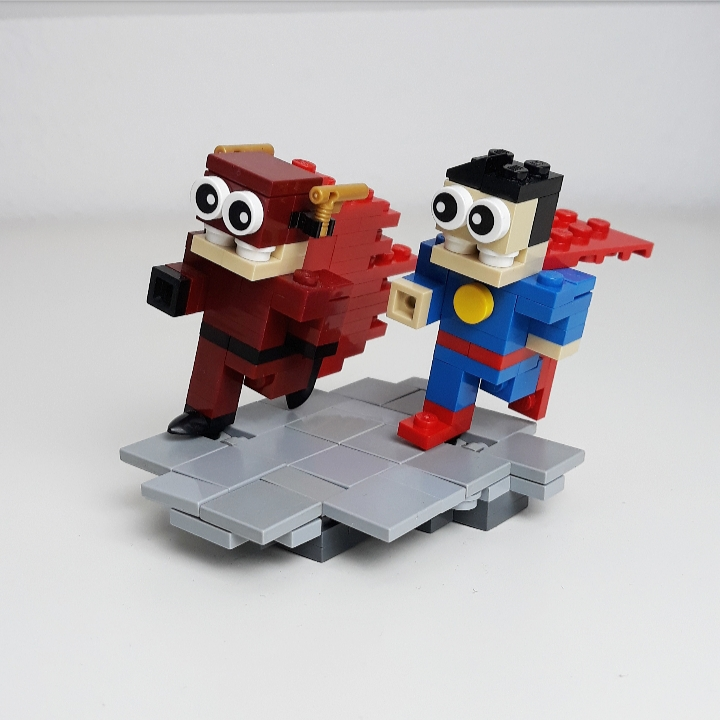 Flash und Superman (DC)