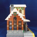 Winter Village Train Station Seite