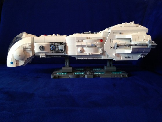 Star Wars - Republic Battle Cruiser June I - 03