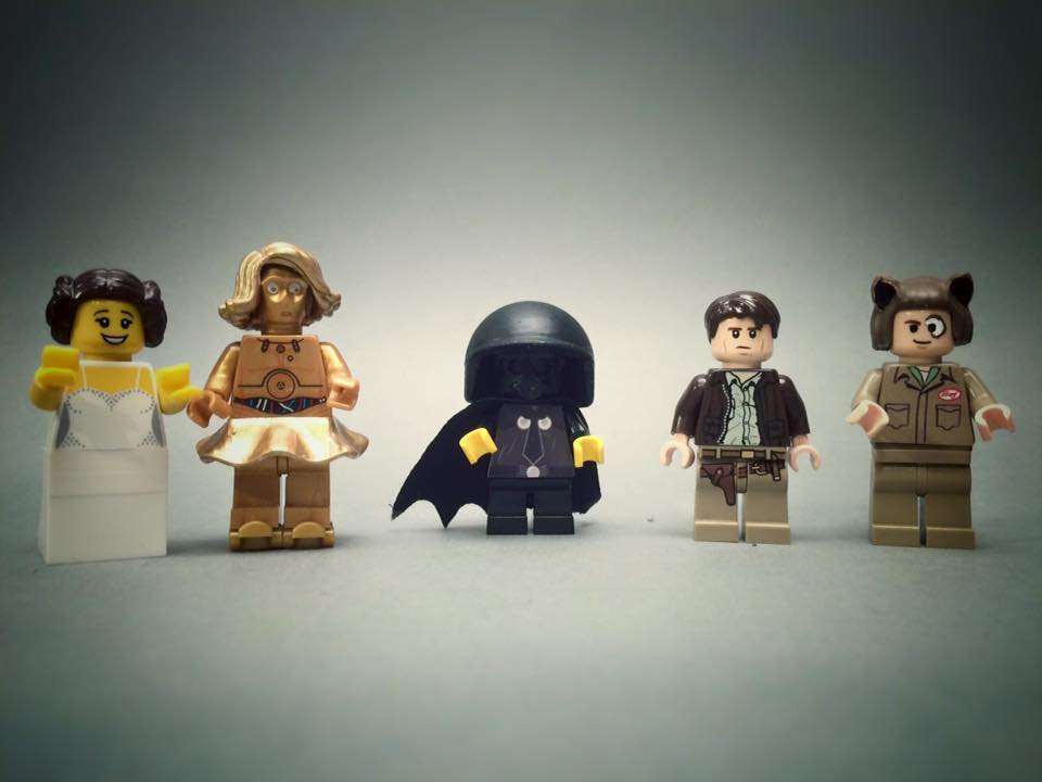 Spaceballs Custom Minifiguren