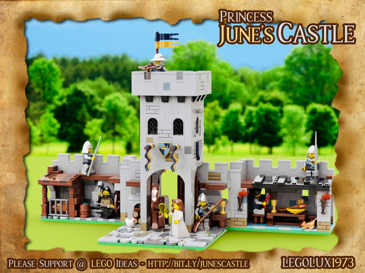 Princess June's Castle - my LEGO Ideas Project 02